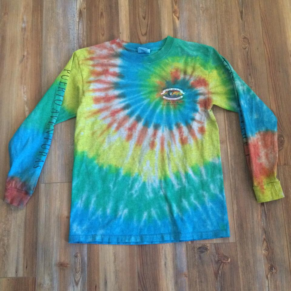 Tie Dyed this shirt